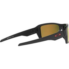 Oakley Double Edge Matte Black/Prizm Ruby Polarized